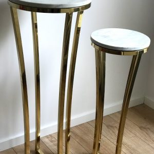 marble top lux gold tables