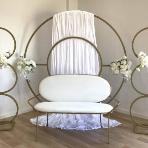 bridal set up